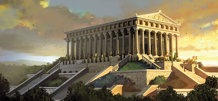 7 Wonders of the Ancient World for Kids - The Temple of Artemis ...
