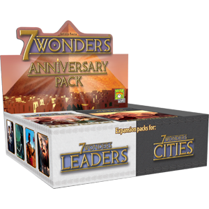 7 Wonders Anniversary Pack Cities/Leaders  (T.O.S.) -  Asmodee