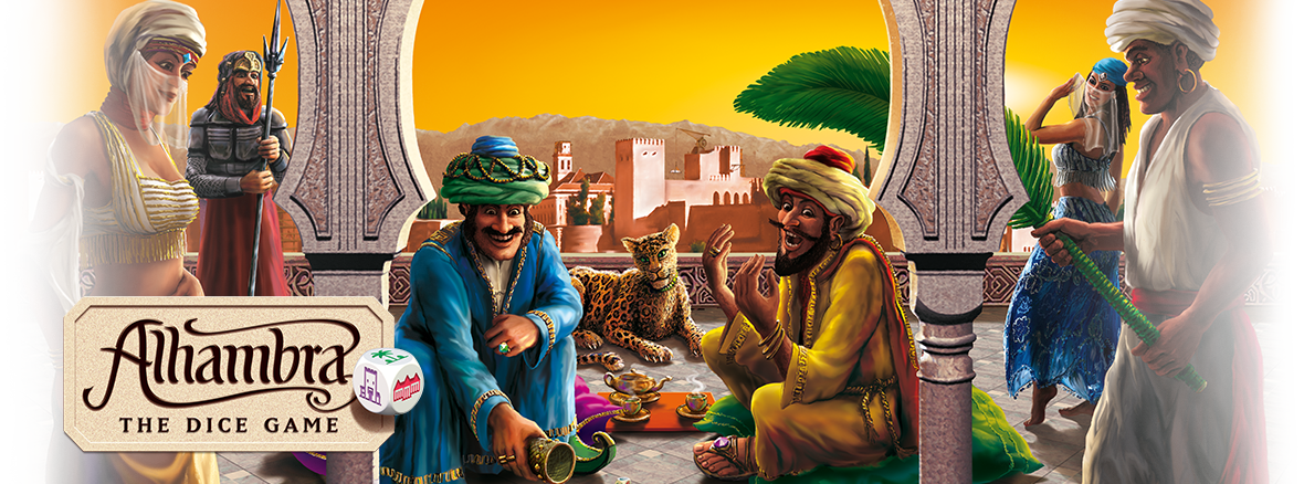 Image result for alhambra the dice game