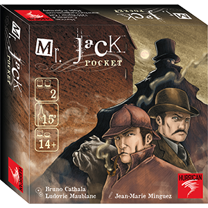 Mr Jack Pocket Edition (T.O.S.) -  Asmodee