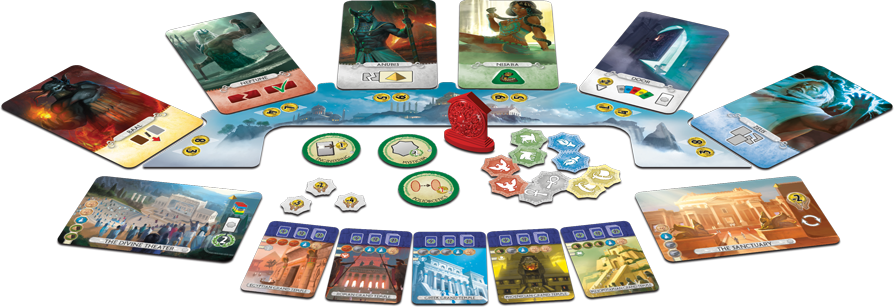 Image result for 7 wonders duel pantheon