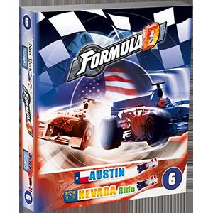 Formula D Expansion. 6 Nevada and Austin -  Asmodee