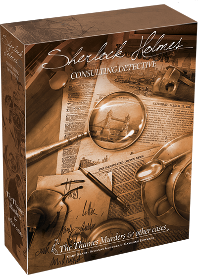 The Thames Murders and Other Cases: Sherlock Holmes: Consulting Detective 2017 -  Asmodee