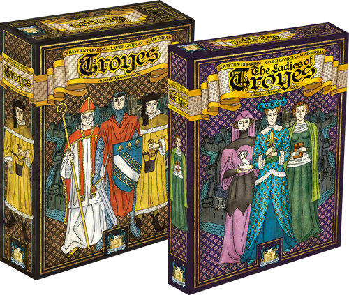 Build the legacy of troyes asmodee for Dujardin xavier